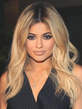 Black to Blonde Long Wavy Celebrity Lace Front Wig HH028