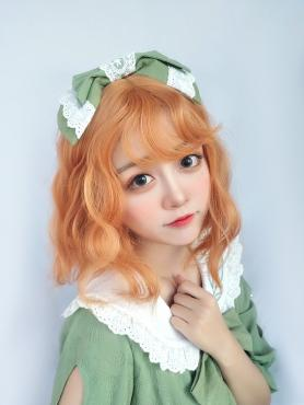 LIVING CORAL WAVY SYNTHETIC WEFTED CAP WIG LG104